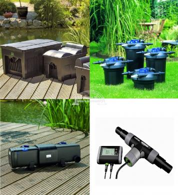 Tavi szűrők, UV-C szűrők, Fonalalgátlanítók, Skimmerek képe