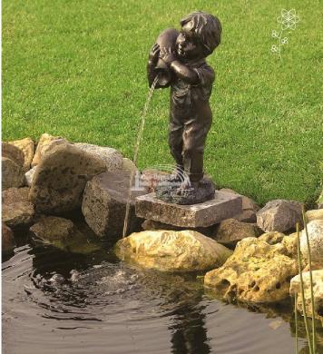 Ubbink Yannik vízköpő figura