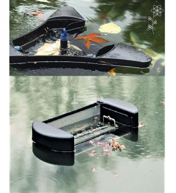 Kerti tó vízfelület tistító és levélszűrők ( Skimmerek) képe