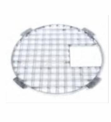 Fedőrács acél kerek 61 cm   Victória 60 -hoz